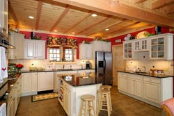 Country kitchen Westchester NY Granite kitchen - Pound Ridge Pound Ridge