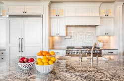 Cream Westchester NY Granite kitchen - Pleasantville Pleasantville